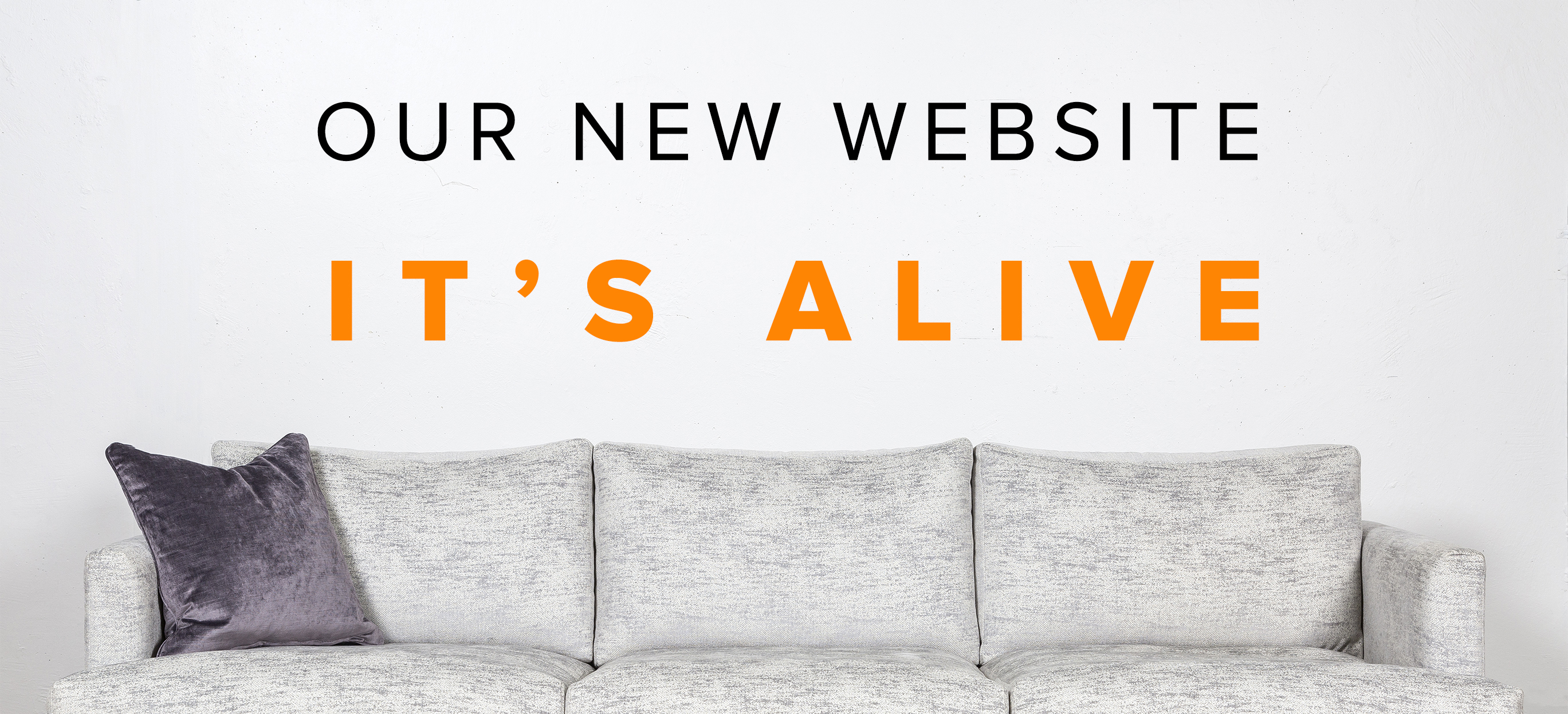 It's Alive! Our New Website That Is...