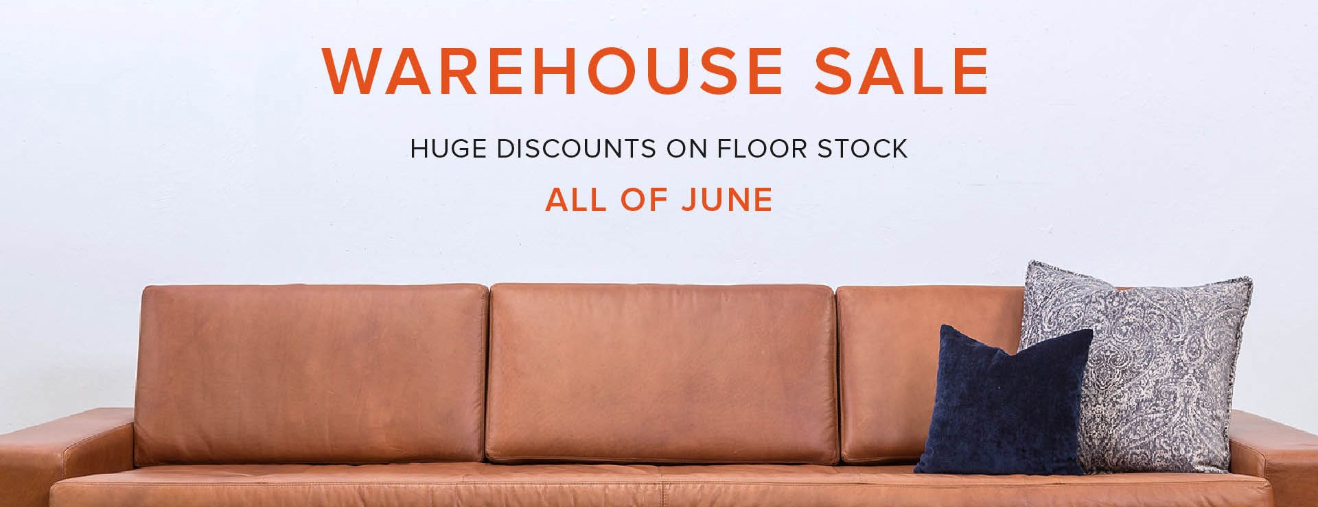 Floorstock, Your Time Has Come - June Sale Time!