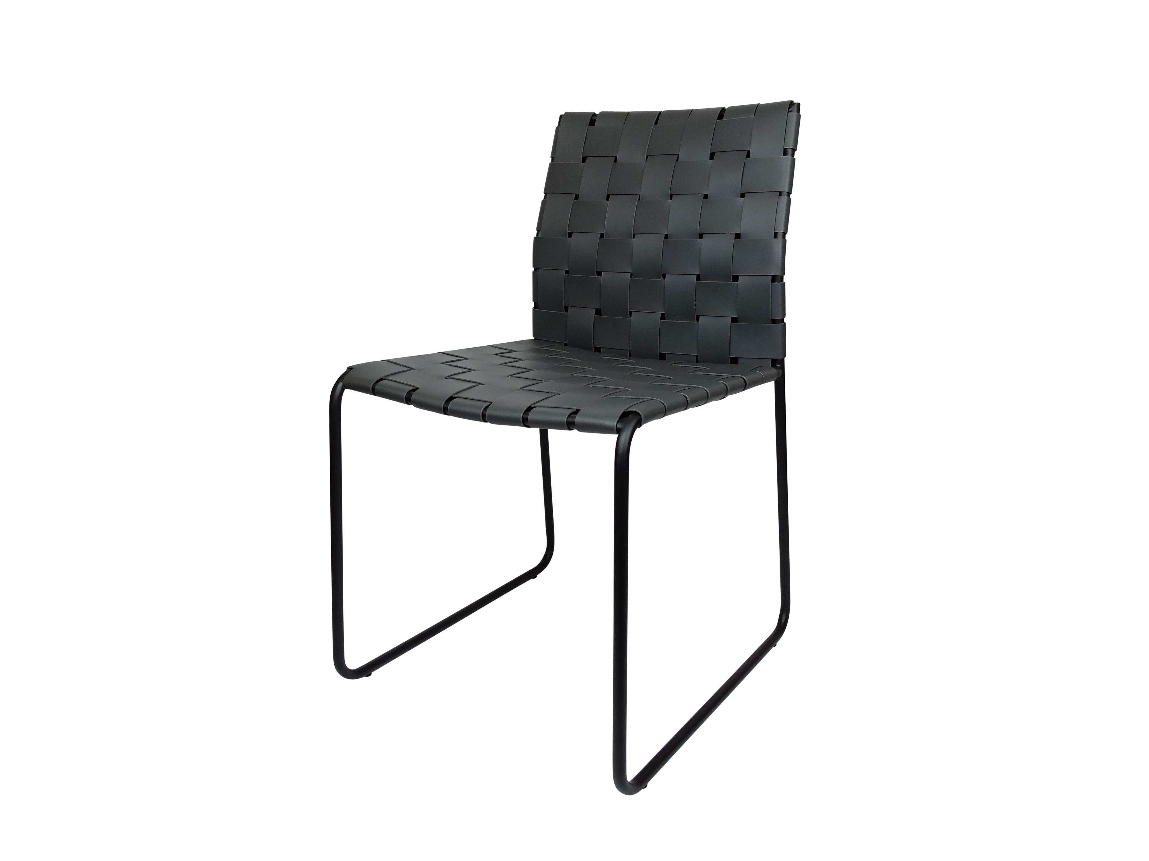Mesh Dining Chair Grey
