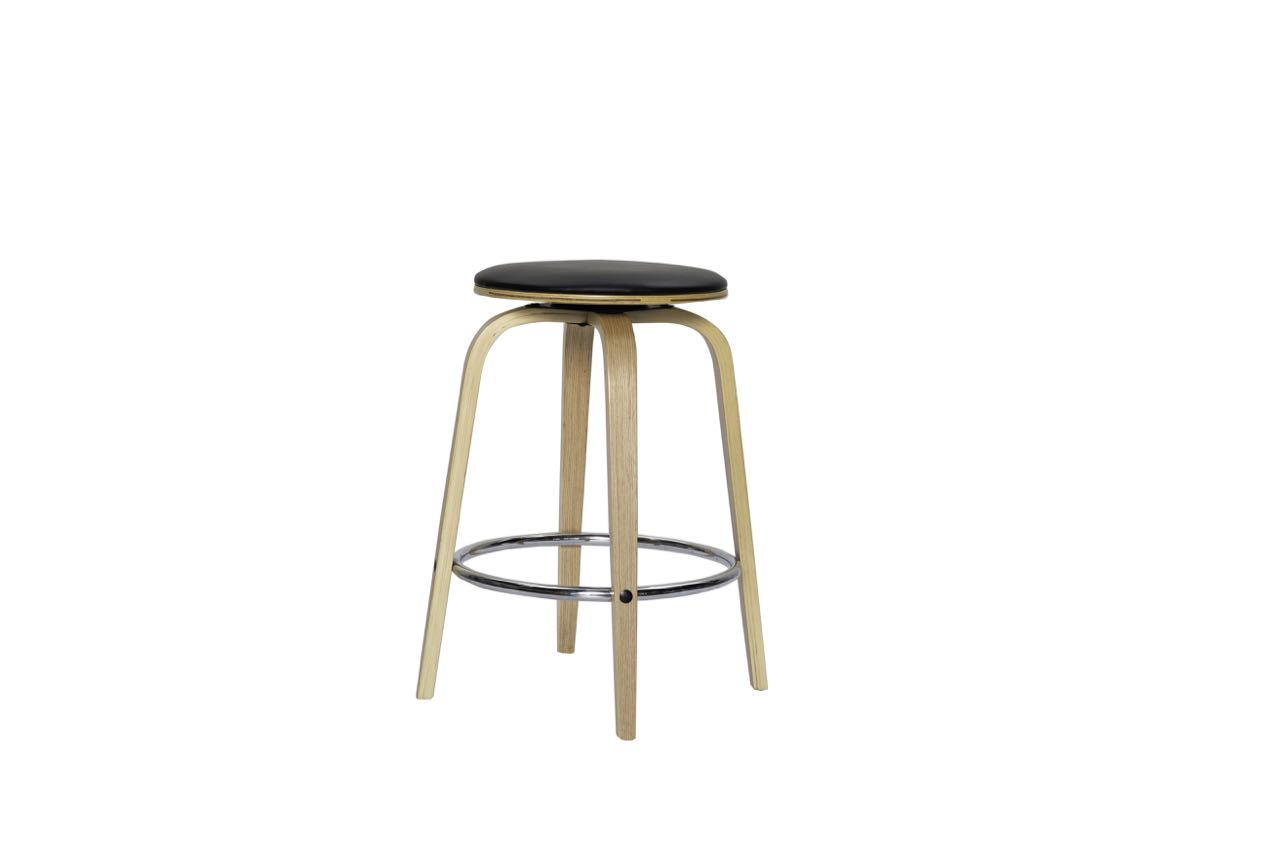 Tao Barstool Oak and Black