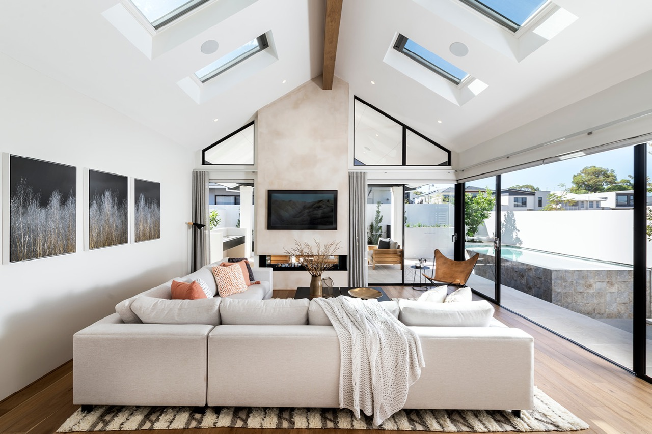 Webb and Brown neaves, Casa show home in Mosman Park