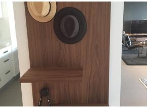 Custom Wall Hung Coat & Bag Rack
