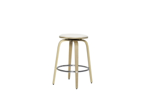 Tao Barstool Oak and White