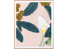 Calla Lilly Woodblock 2