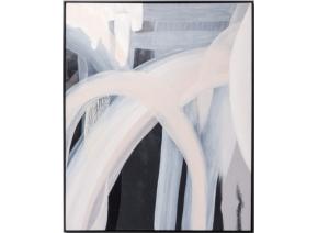 Airlie Black and Blush Framed