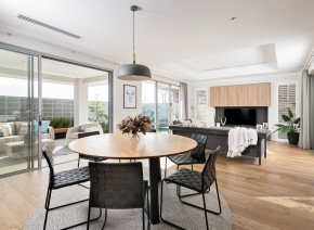 Webb and Brown Neaves, Phoenix show home in Mindarie