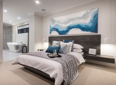 Webb and Brown neaves, Eden show home in Jindalee