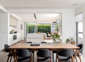 Webb and Brown neaves, Palm spring Show home in Mosman Park